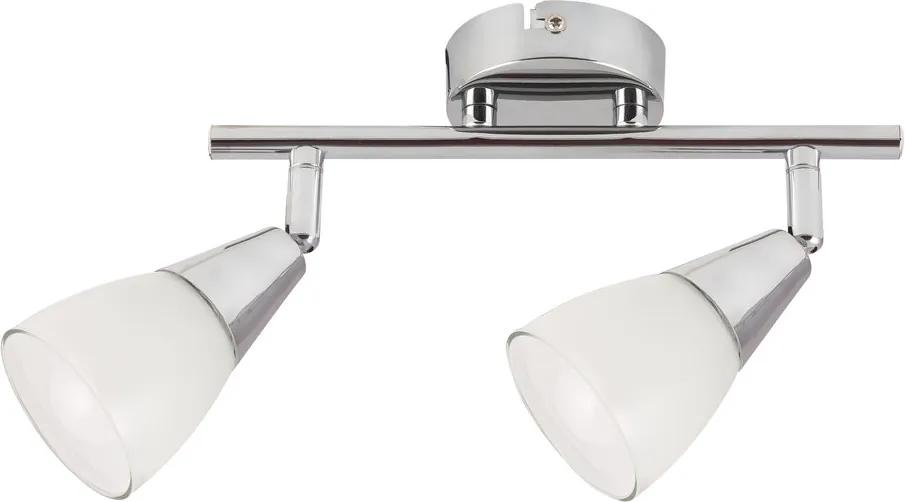 Rábalux Nicolette 6768 Plafoniere crom alb E14 2x Max 40W 250 x 150 mm