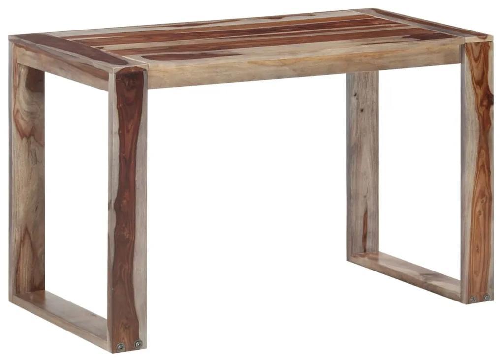 286360 vidaXL Masă de bucătărie, 120 x 60 x 76 cm, lemn masiv de sheesham