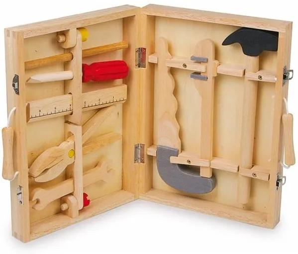 Trusa meșterului, jucărie din lemn Legler Maik