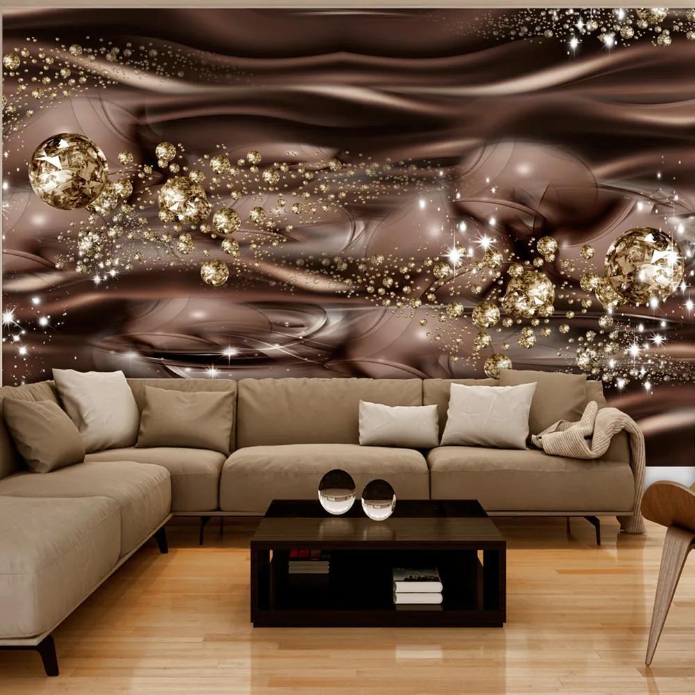 Fototapet Bimago - Chocolate River + Adeziv gratuit 300x210 cm