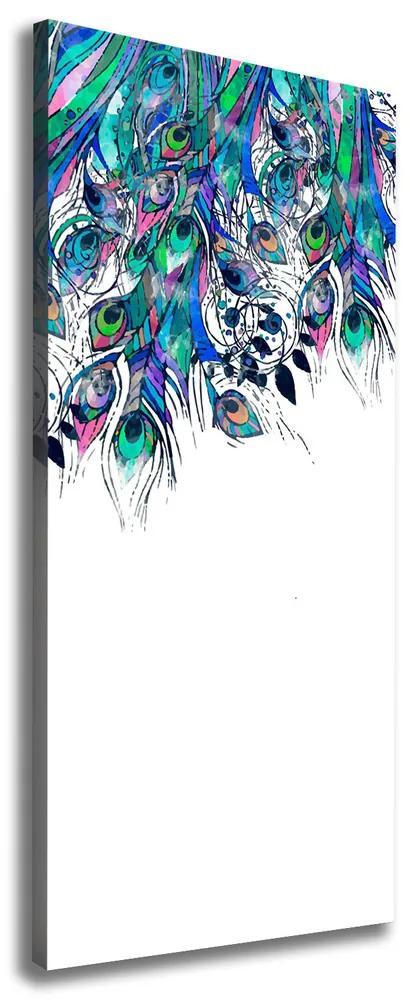 Imprimare tablou canvas Pene de păun