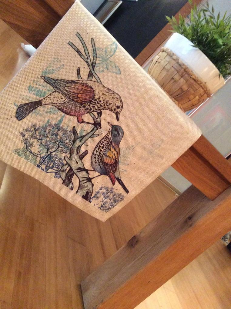 Napron Blue Bird 45 x 140 cm