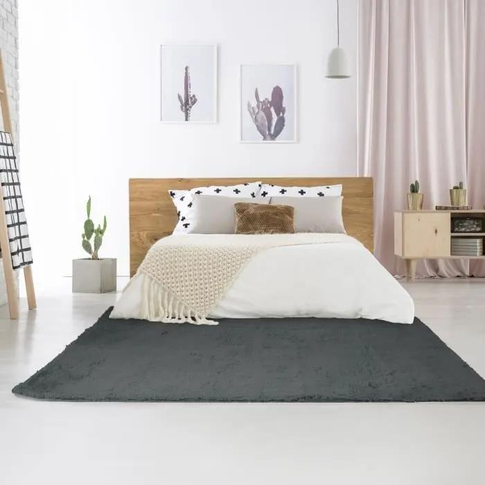 Covor Living/Dormitor NEO YOGA - 120x170 cm - Dark Gray