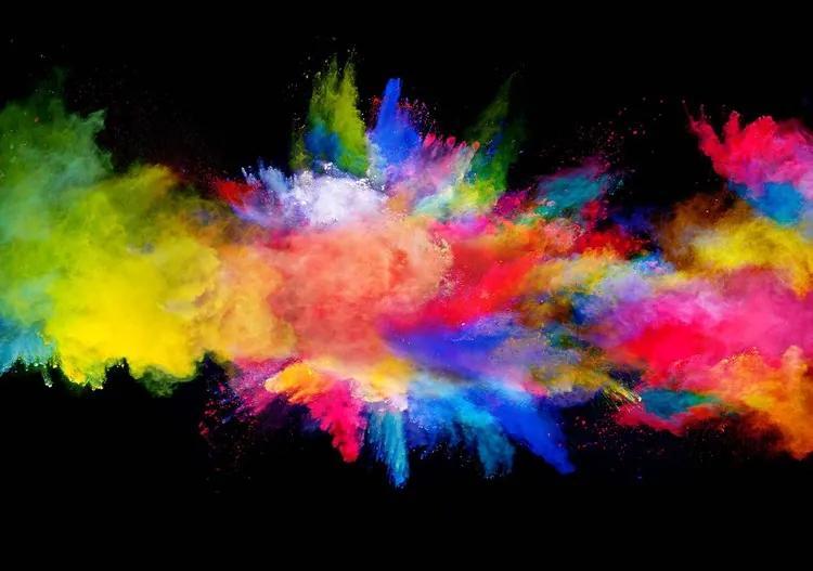 Colour Explosion Fototapet, (152.5 x 104 cm)