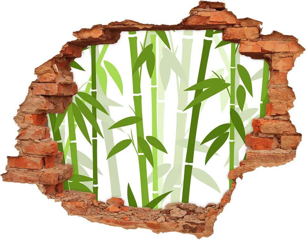 Autocolant autoadeziv gaură Bambus