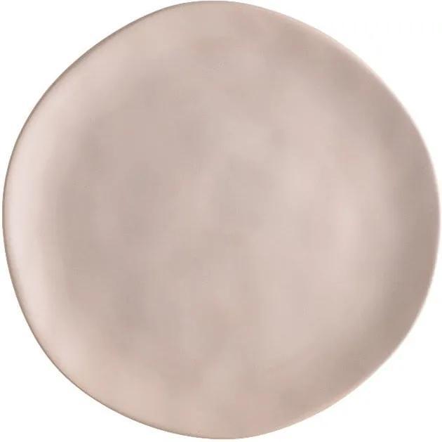 Farfurie din porțelan pentru pizza Brandani Pizza, ⌀ 20 cm, bej