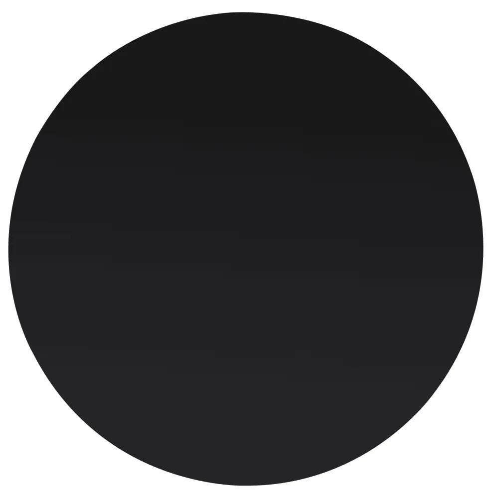 244613 vidaXL Blat de masă din sticlă securizată, rotund, 400 mm