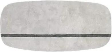 Covor Gri Oona 90x200cm NORMANN COPENHAGEN - Lana Gri Lungime (90cm) x Larime (200cm)
