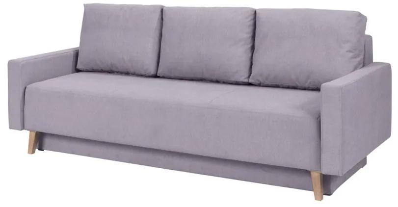 Expedo Canapea extensibilă tapițată DIVEDO, 215x86x95 cm, moric 06