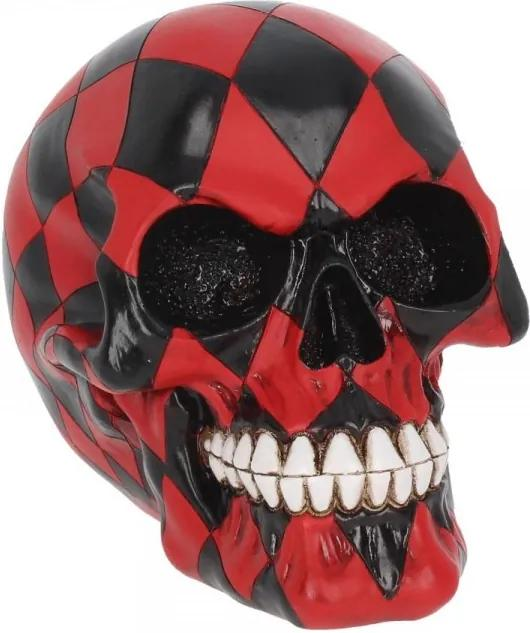 Statueta craniu Nebunul 15 cm