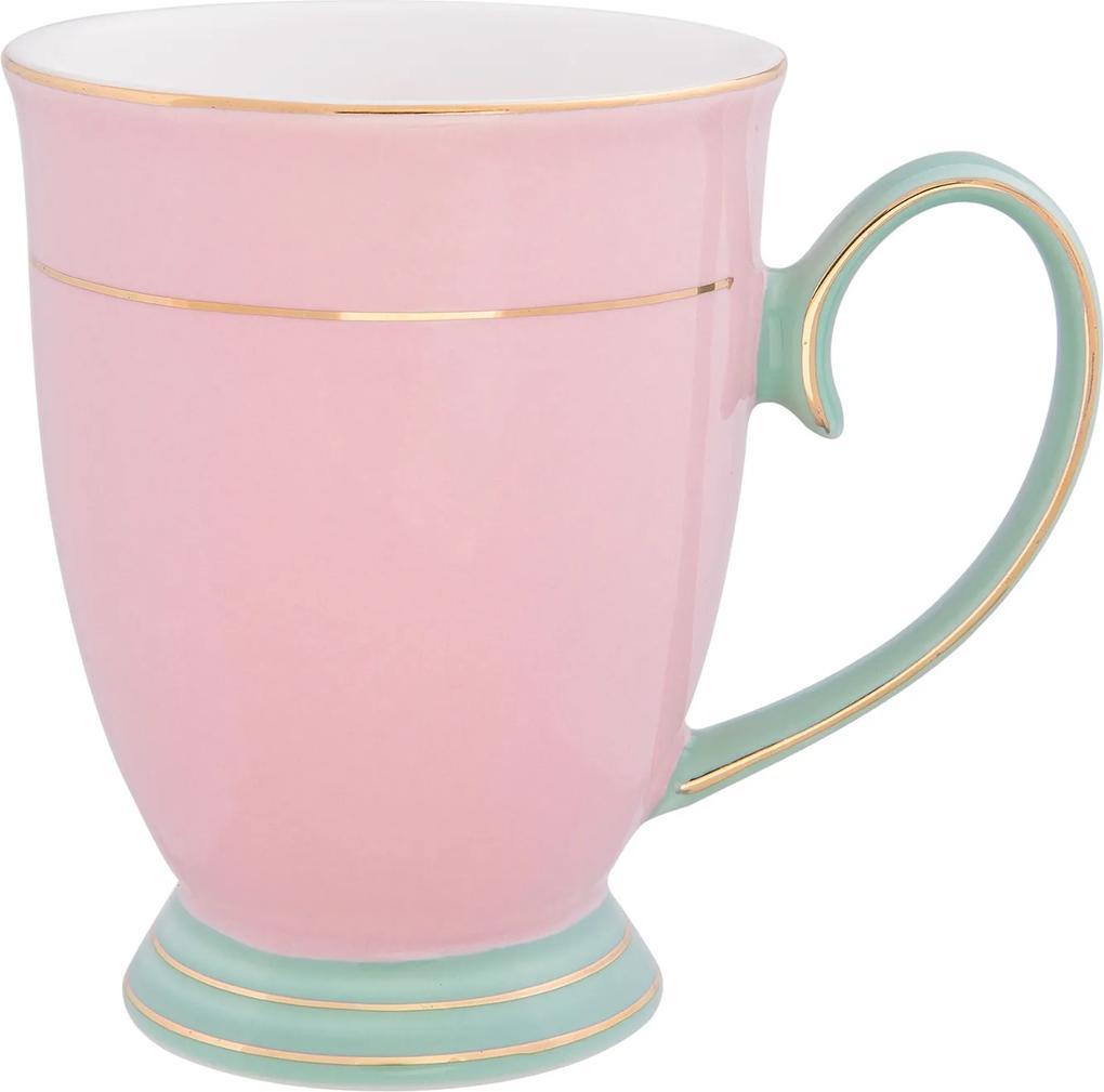Cana portelan Sweet Pink 12*8*11 cm - 0.25 L