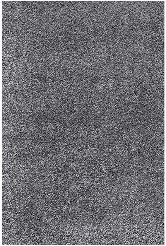COVOR TRIO SHAGGY, DREPTUNGHIULAR, 160X230, UNI, GRI INCHIS, POLIPROPILENA