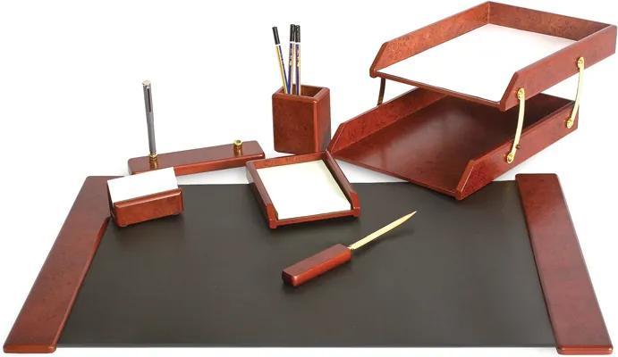 Set birou lux Forpus 471849 lemn