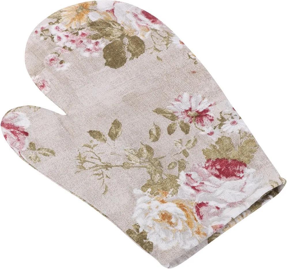 Mănușă Ema Buchet de flori, 18 x 28 cm