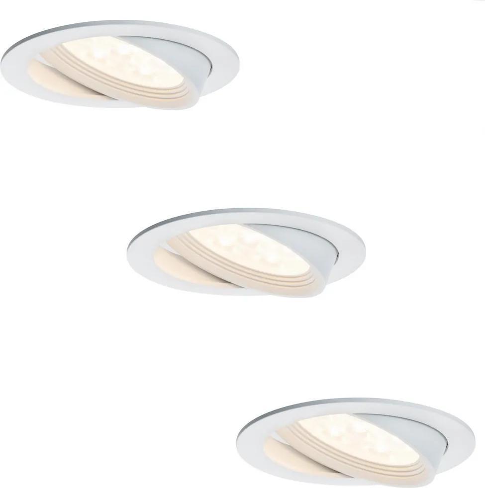 Paulmann 92688 - SET 3x LED Lampă încastrată PREMIUM LINE 3xLED/7,2W/230V