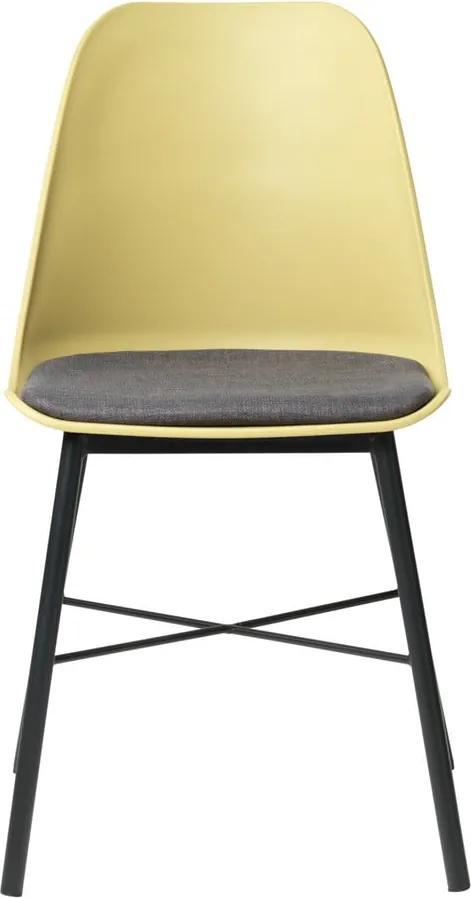 Scaun Unique Furniture Whistler, galben-gri