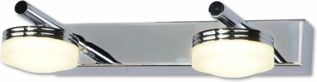 Top Light - LED aplică perete baie HUDSON 2xLED/5W/230V