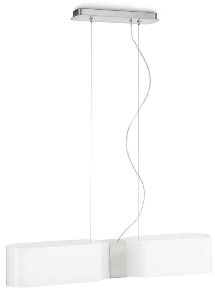 Philips Massive 37655/31/16 - Lustră pe cablu SAAR 2xE27/23W/230V