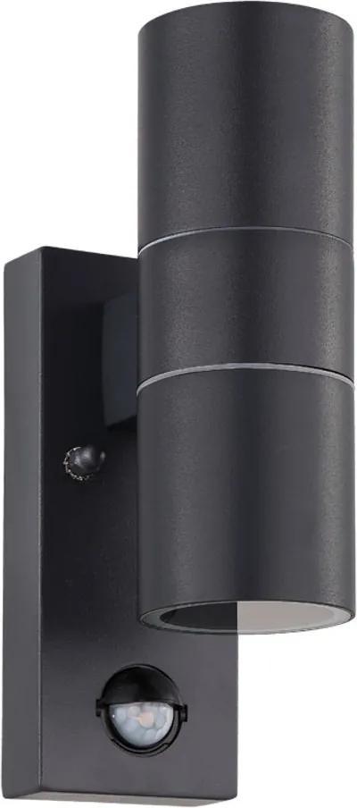 Aplica Exterior Riga 5, Senzor, 2 x GU10-LED 3W