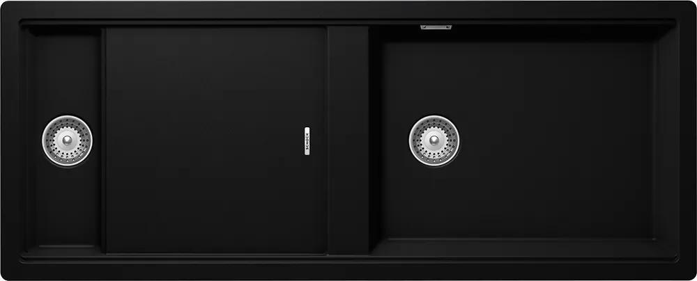 Chiuveta Granit Schock Prepstation D-150 Puro Cristadur 1140 x 460 mm cu Sifon Automat
