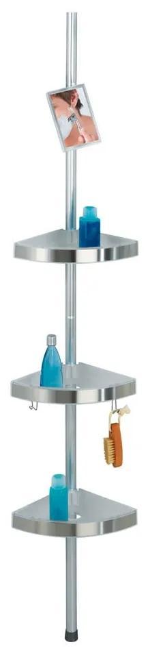 Raft telescopic pentru duș Wenko Premium