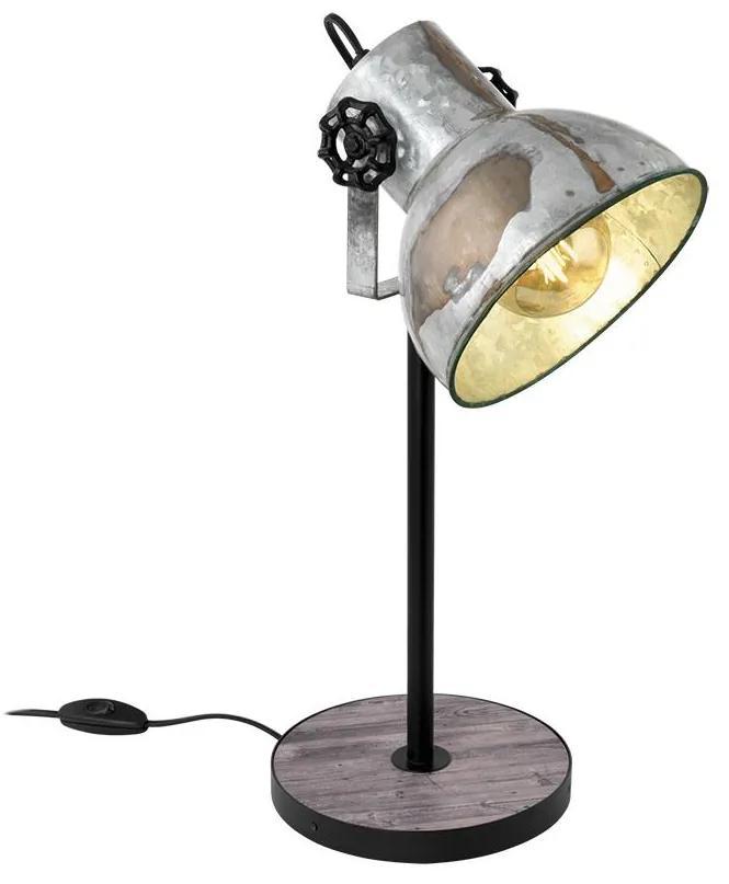 Eglo 49718 - Lampă de masă BARNSTAPLE 1xE27/40W/230V