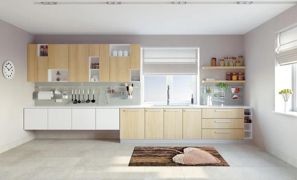 Covor de bucătărie foarte rezistent Floorita Coure, 60 x 140 cm