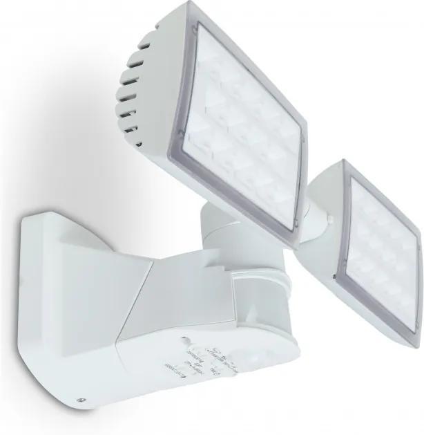 Lutec PERI 7629401331 LED cu senzor de miscare alb aluminiu Lextar 3030 3280lm 5000K IP54 A+