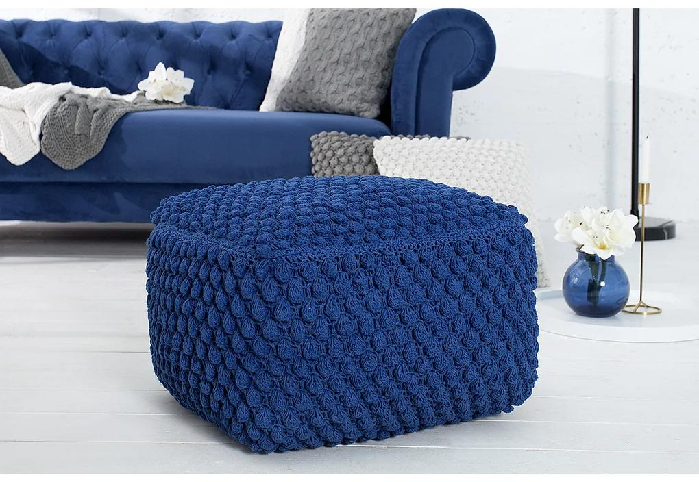 Taburet Cozy albastru