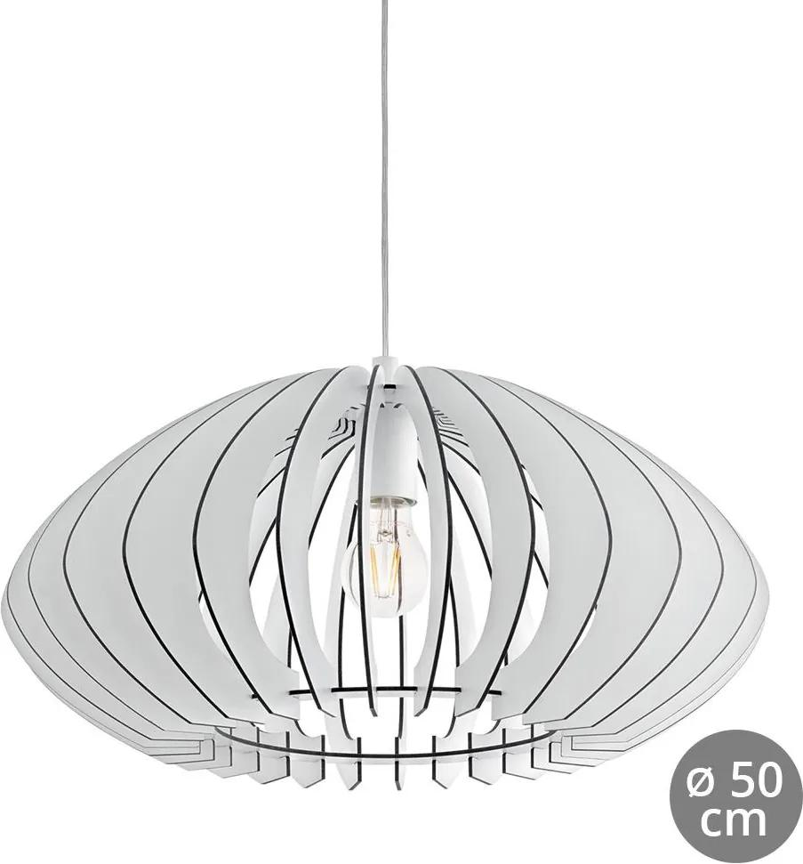 Eglo 95254 - Lustra COSSANO 2 1xE27/60W/230V