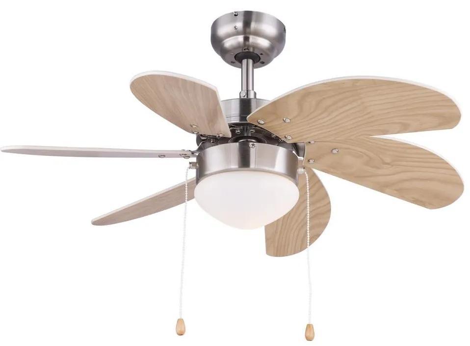 Globo 03301 - Ventilator de tavan RIVALDO 1xE14/60W/230V
