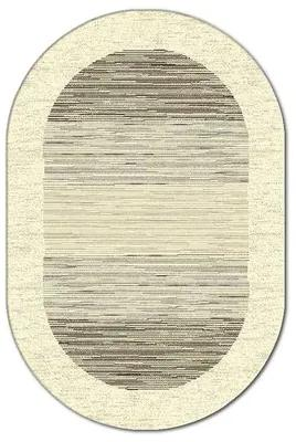 Covor oval Matrix 1720 bej/gri 200x300 cm