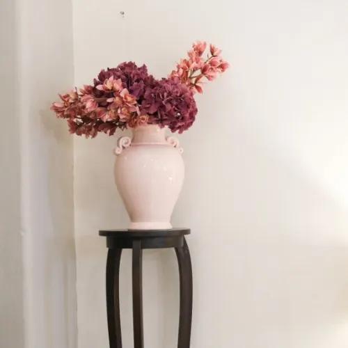 Suport pentru flori Rosin din lemn maro diametru 122x31 cm