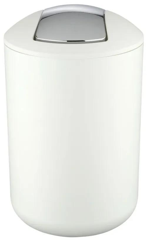 Coș deșeuri Wenko Brasil, 31 cm, alb