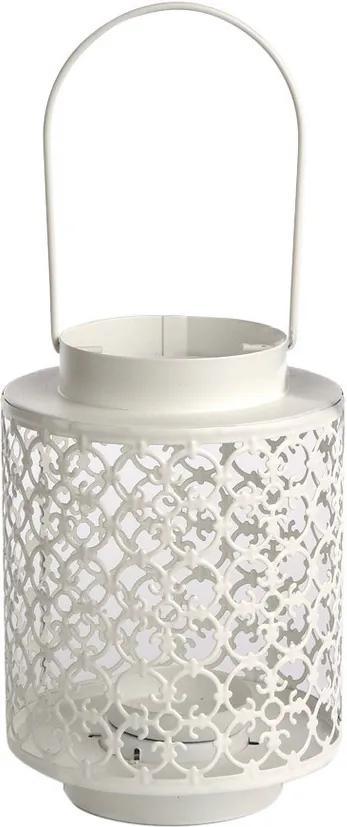 Lampadar Altom metalic cu lumânare Naya, 13 x 18,5 cm