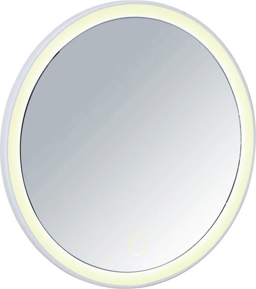 Oglindă cu LED Wenko Isola, alb