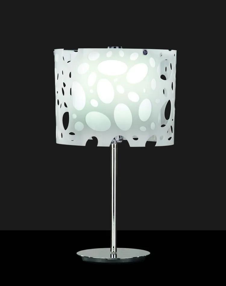 Mantra MOON 1367 Veioze, Lampi de masă alb 1xE27 max. 20W Ø25x52cm