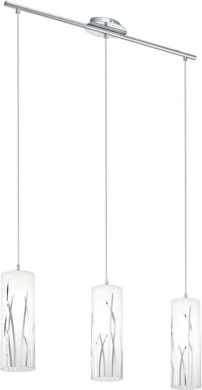 Eglo 92741 - Lampa suspendata RIVATO 3xE27/60W/230V