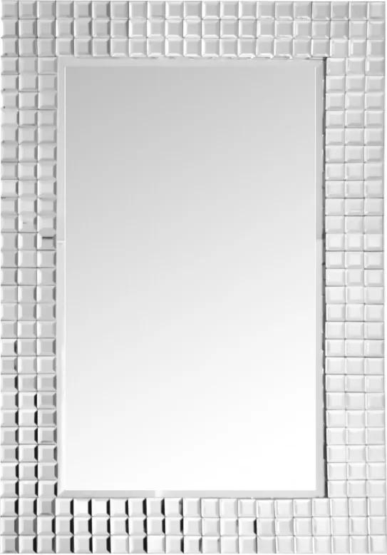 Oglinda dreptunghiulara Apollos Argintiu, 4cm (L / D) x 60cm (W) x 90cm (H)