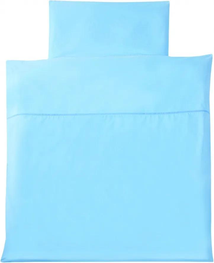Lenjerie pat bleu 80/80 cm