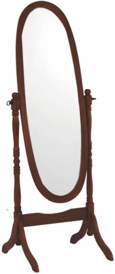 Oglindă tip stand, nuc, OGLINDĂ 20124