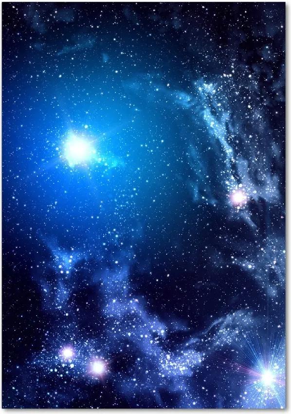 Pictura pe sticlă acrilică Nebuloasă