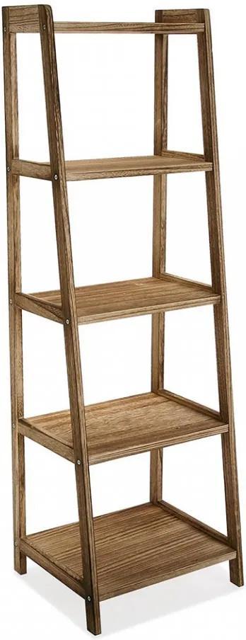 Etajera maro din lemn 136,5 cm Five Levels Versa Home