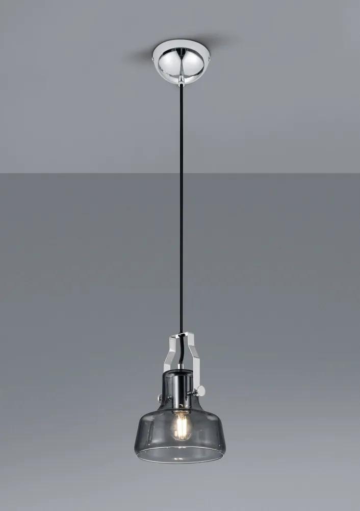 Trio 305600106 Pendul cu 1 braț KOLANI crom metal excl. 1 x E14 IP20