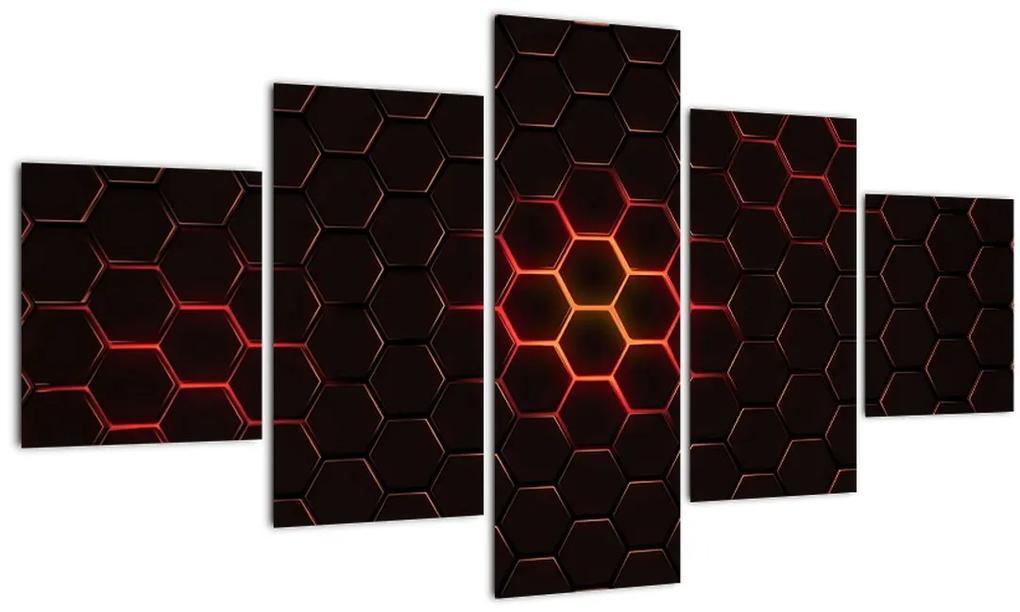 Tablou cu sârmă (125x70 cm), în 40 de alte dimensiuni noi