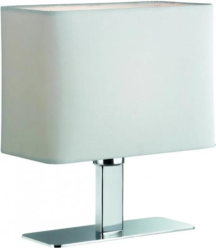 Trio MING R50111001 Veioze, Lampi de masă crom excl. 1 x E14, max. 40W W:20cm, H:22,5cm,