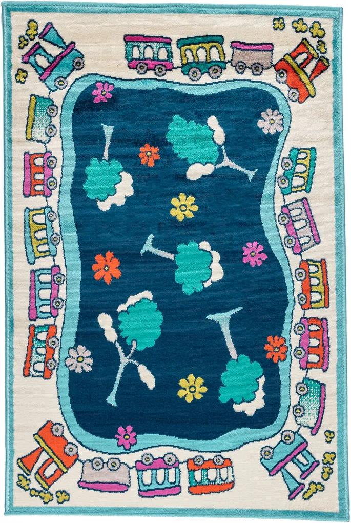 Covor Copii & Tineret Kira, Multicolor, 100x150 cm