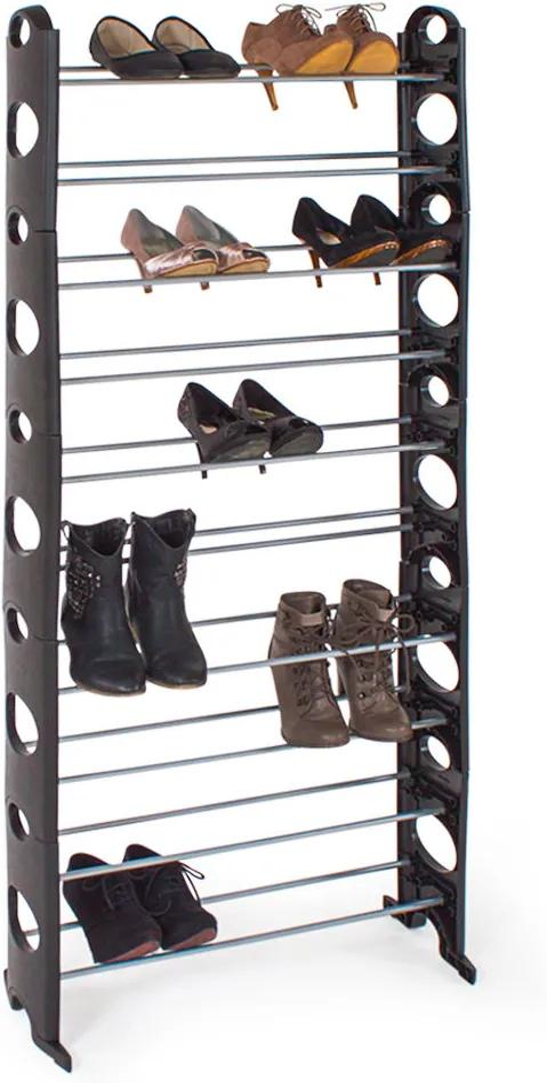 Pantofar cu 10 nivele - negru