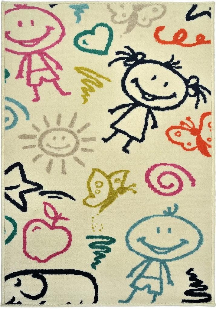 Covor Copii & Tineret Jody, Multicolor, 100x150