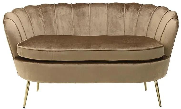 Canapea Golden Brown 143cm x 77cm x 79cm
